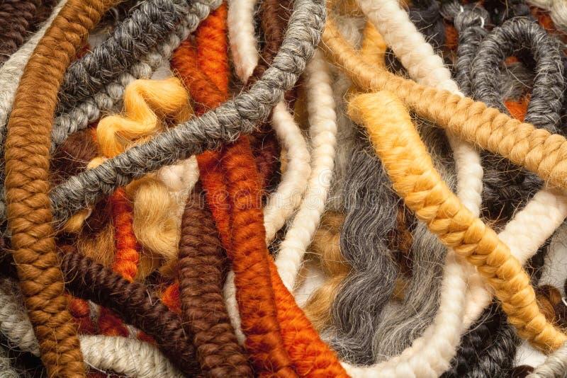 Het haar omfloerst Gebruikt voor het Maken van Baarden en Snorren stock afbeelding
