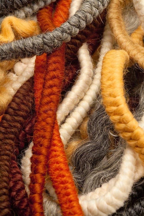 Het haar omfloerst Gebruikt voor het Maken van Baarden en Snorren stock afbeeldingen