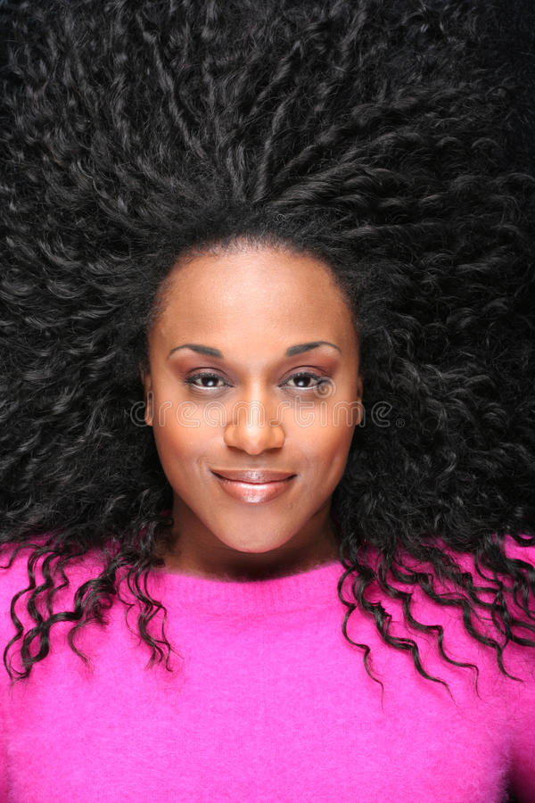 Het haarhaar van het haar stock foto's