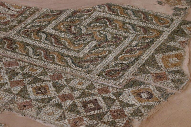 Het Hakenkruis: een oud kosmisch symbool De meander is een vereenvoudigd labyrint royalty-vrije stock afbeelding