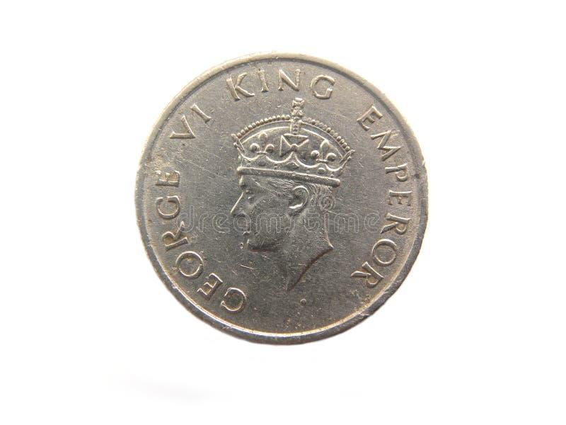 Het halve muntstuk van Roepieindia royalty-vrije stock foto's