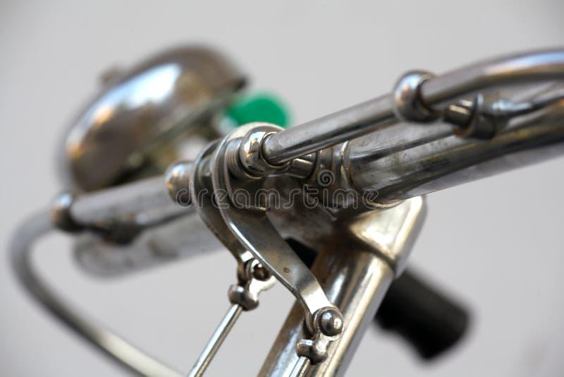 Het handvat van de fiets stock afbeeldingen