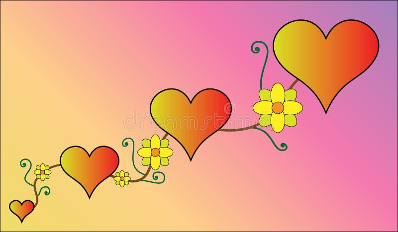 Het hart royalty-vrije stock foto's