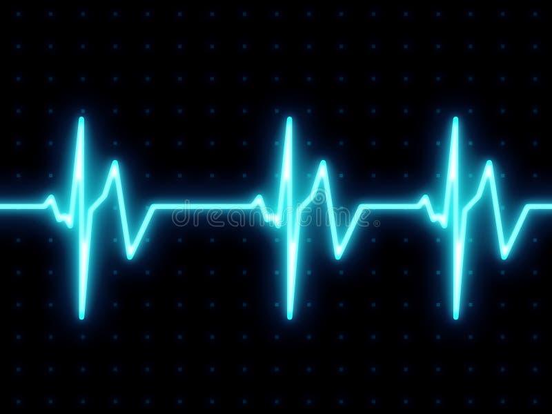 Het hart sloeg het scherm