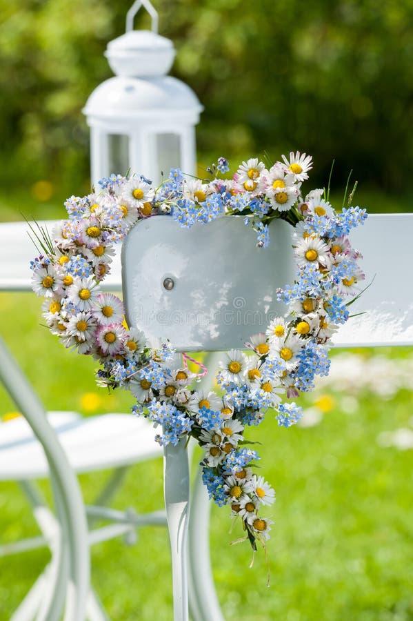 Het hart van de bloem royalty-vrije stock afbeelding