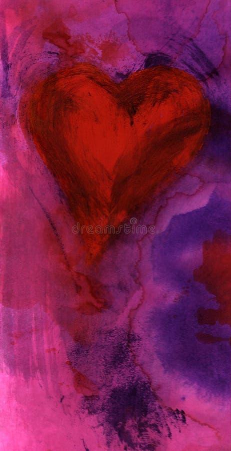 Het Hart van de hartstocht stock illustratie