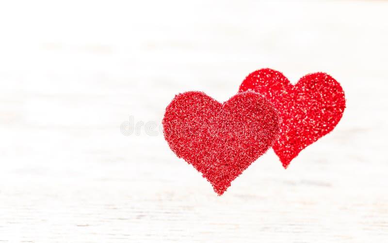 Het hart van Floaty backgrounde stock fotografie