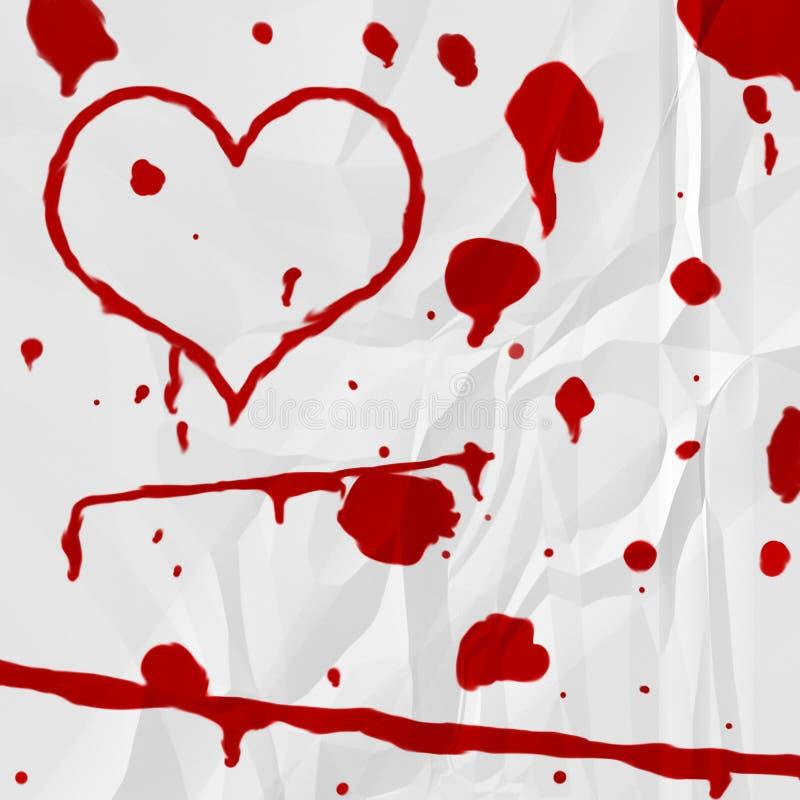 Het Hart van het bloed royalty-vrije illustratie