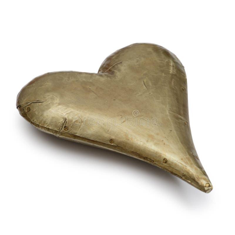 Het hart van het metaal stock afbeeldingen