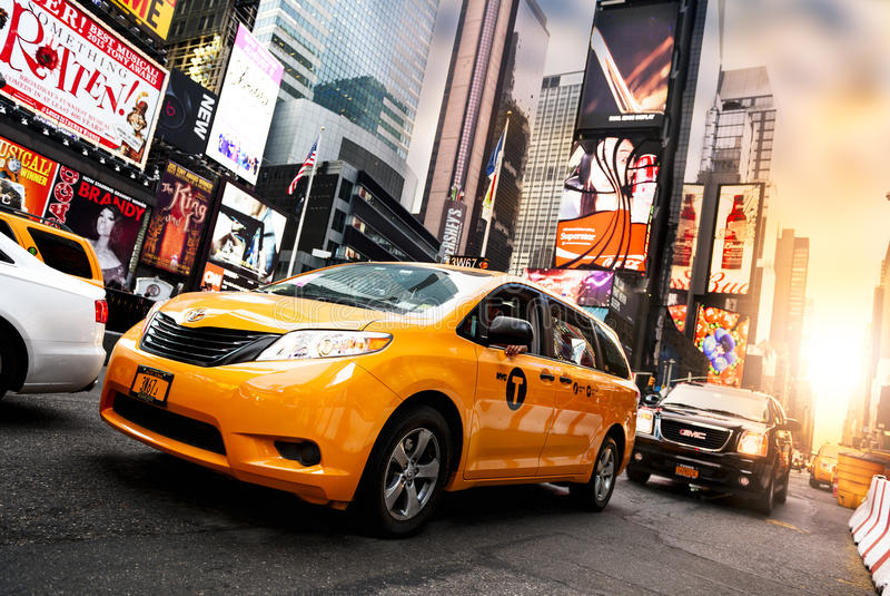 In het hart van New York stock foto's