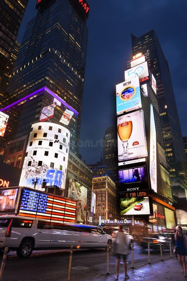 In het hart van New York stock afbeeldingen