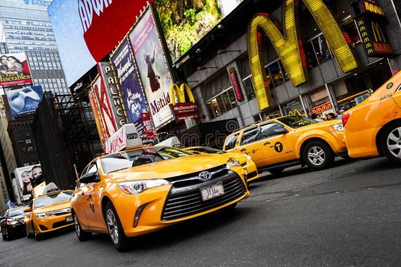 In het hart van New York stock fotografie