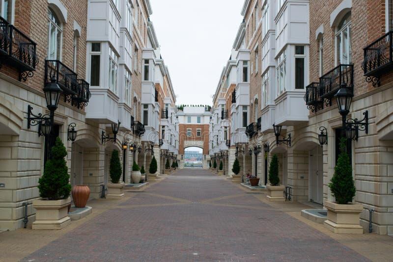 Het havengebied Fells binnen Punt in Baltimore, Maryland stock fotografie