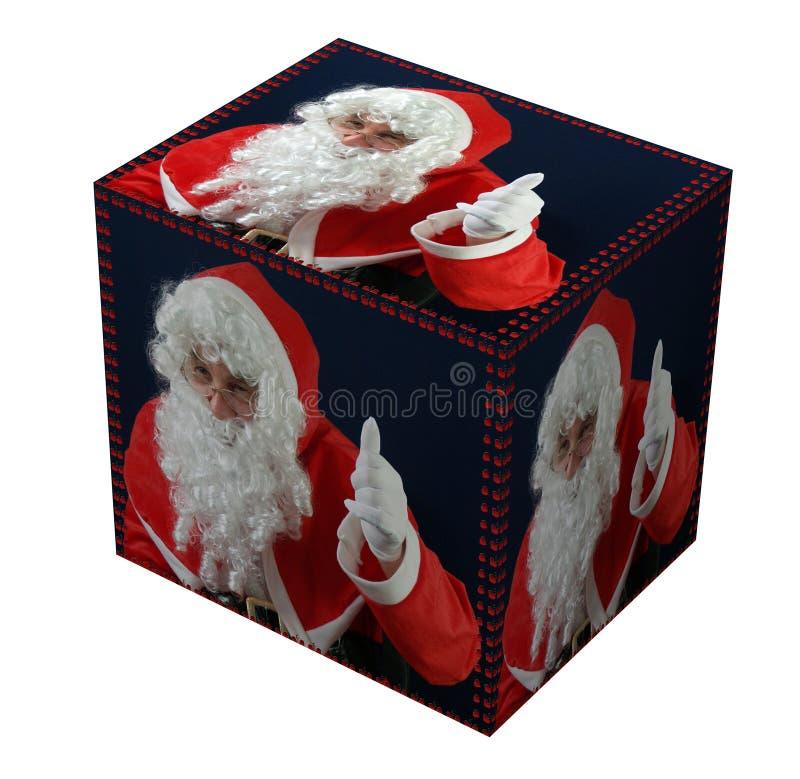 Het heden van de kerstman vector illustratie