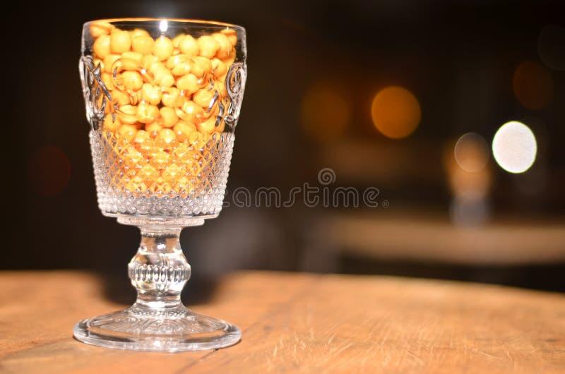 Het heerlijke, Gezonde Eten, Graan in Glas royalty-vrije stock foto's