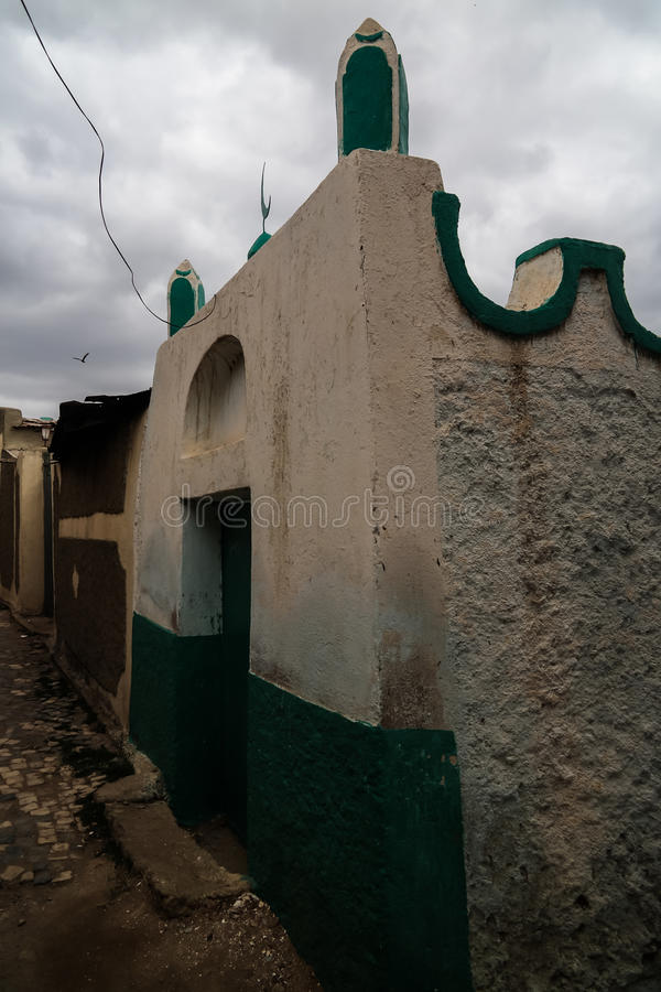 Het heiligdom en moskee Harar, Ethiopië van Abadirumar AR-Rida royalty-vrije stock foto's