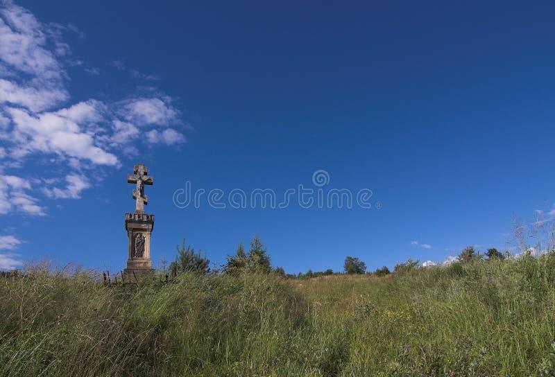Het heiligdom van de wegkant stock afbeeldingen