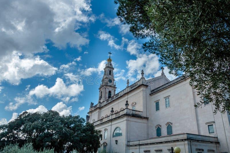 Het Heiligdom van Fatima, dat ook als Basili wordt bedoeld royalty-vrije stock afbeeldingen