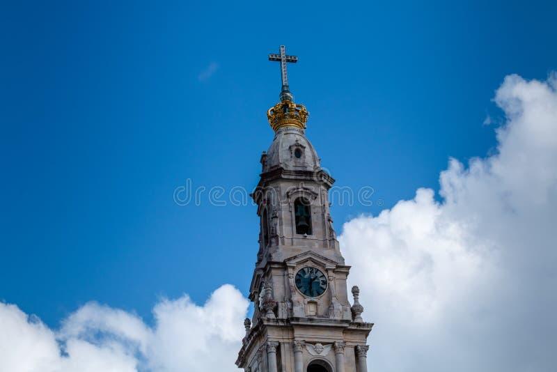 Het Heiligdom van Fatima, dat ook als Basili wordt bedoeld royalty-vrije stock fotografie