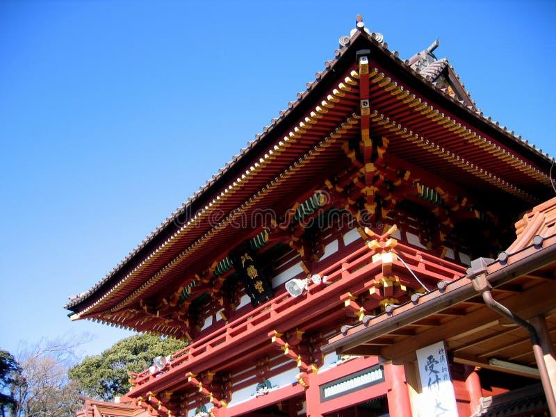 Het Heiligdom van Hachiman - Kamakura, Japan stock foto's