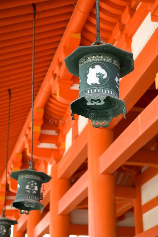 Het Heiligdom van Heian royalty-vrije stock afbeelding