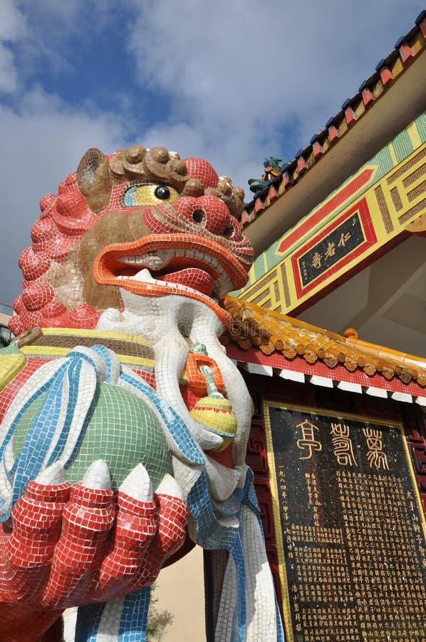 Het Heiligdom van het Mozaïek van de Leeuw van China royalty-vrije stock foto's