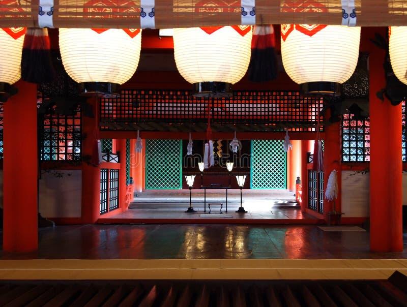 Het Heiligdom van Itsukushima royalty-vrije stock foto's