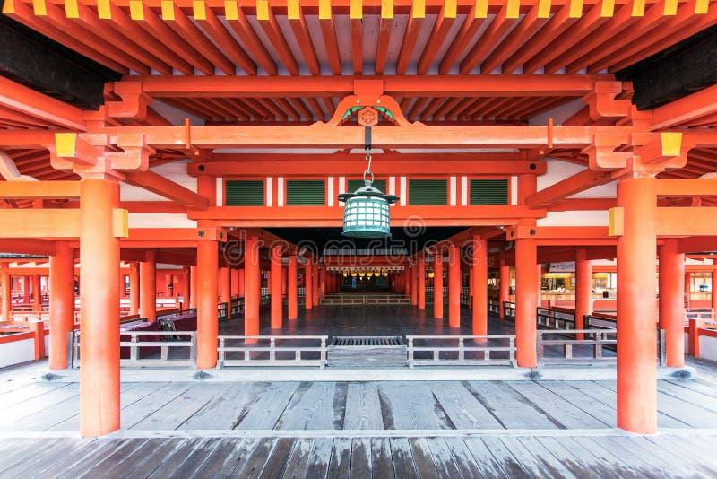 Het Heiligdom van Itsukushima stock afbeeldingen