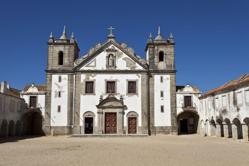 Het Heiligdom van kaapespichel, Portugal stock afbeelding