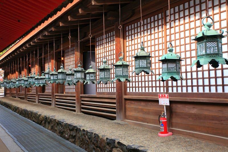 Het Heiligdom van Kasugataisha, Nara, Japan royalty-vrije stock fotografie
