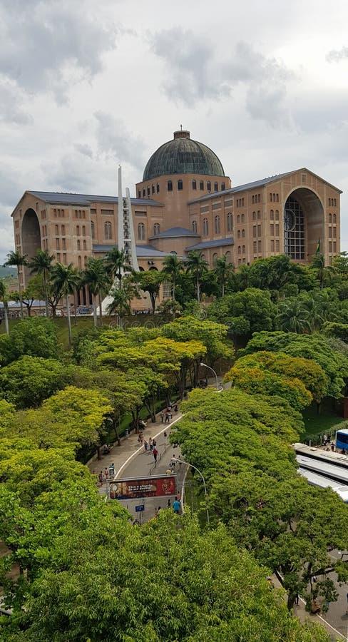 Het Heiligdom van Onze Dame van Aparecida stock fotografie