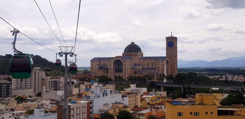 Het Heiligdom van Onze Dame van Aparecida royalty-vrije stock fotografie