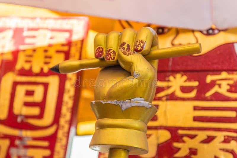 Het heiligdom van rustige licht in Phuket-Stad Thailand royalty-vrije stock afbeelding