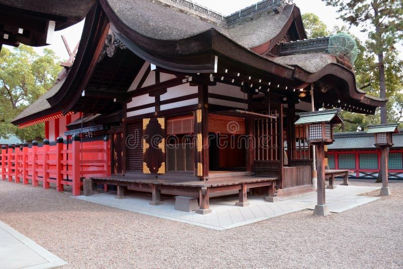 Het Heiligdom van Sumiyoshitaisha, Osaka royalty-vrije stock fotografie