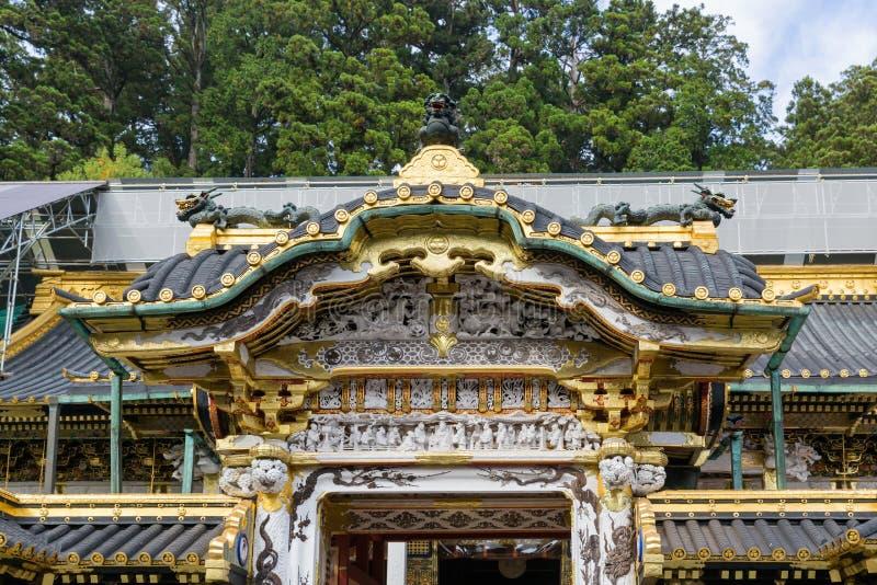 Het Heiligdom van Toshogu in Nikko royalty-vrije stock foto