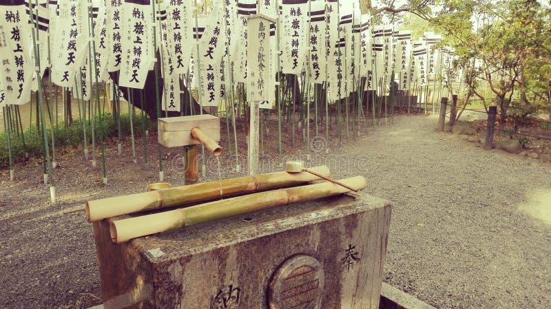 Het Heiligdom van Tsurugaokahachimangu Shinto in Japan stock foto's