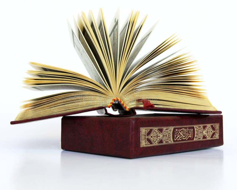 Het heilige Islamitische Boek royalty-vrije stock afbeelding