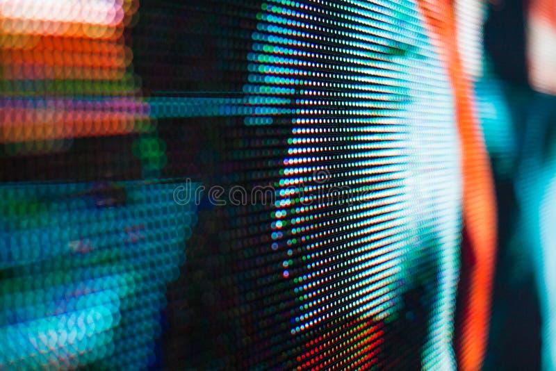 Het heldere gekleurde lichte LEIDENE smd scherm royalty-vrije stock afbeelding