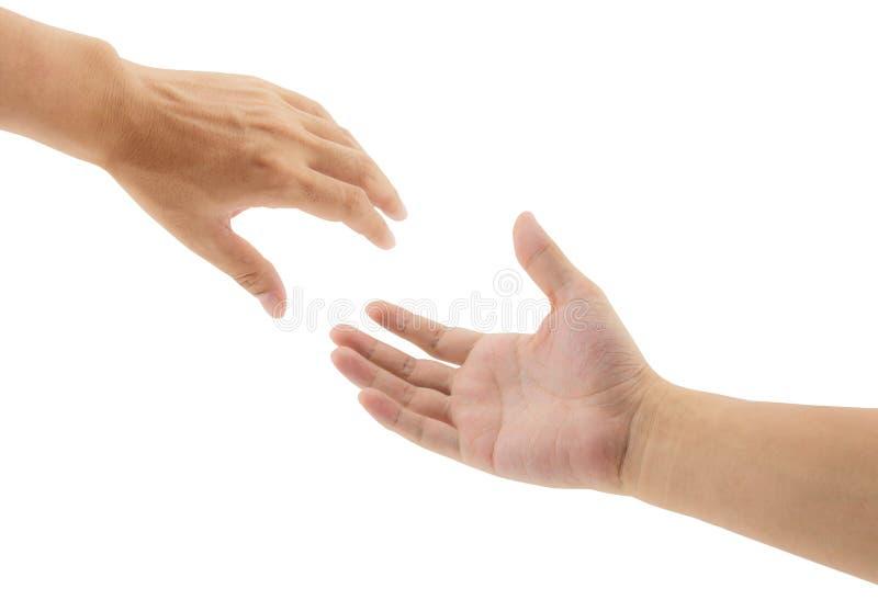 Het helpen van Handen stock afbeelding