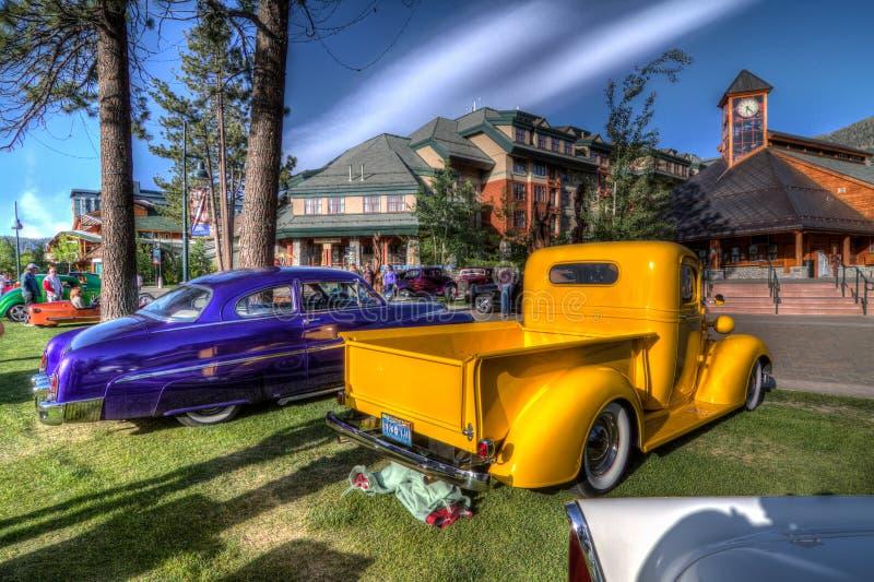 Het Hemelse Car Show van meertahoe royalty-vrije stock afbeelding