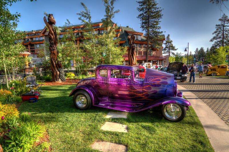 Het Hemelse Car Show van meertahoe royalty-vrije stock foto