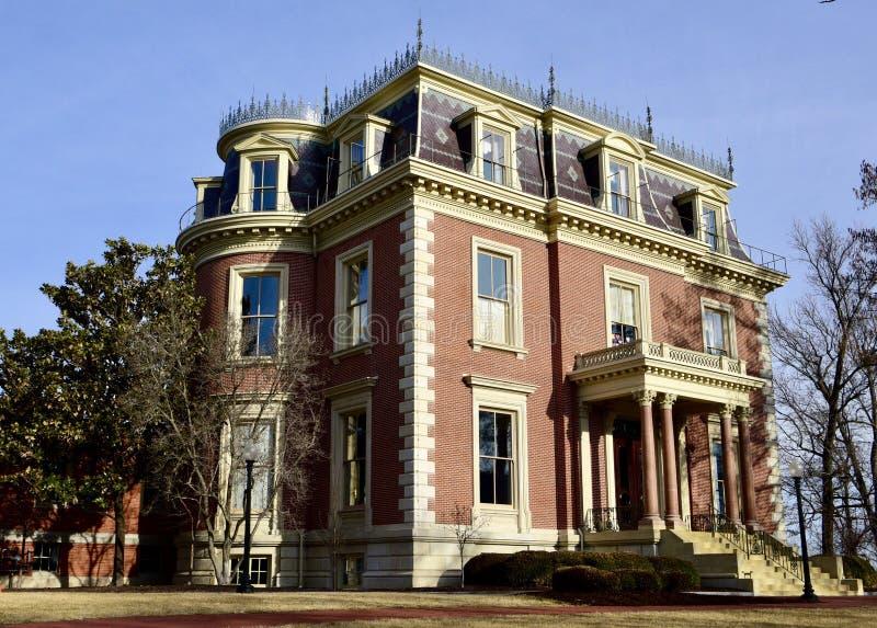 Het Herenhuis van Missouri Governor's royalty-vrije stock afbeelding