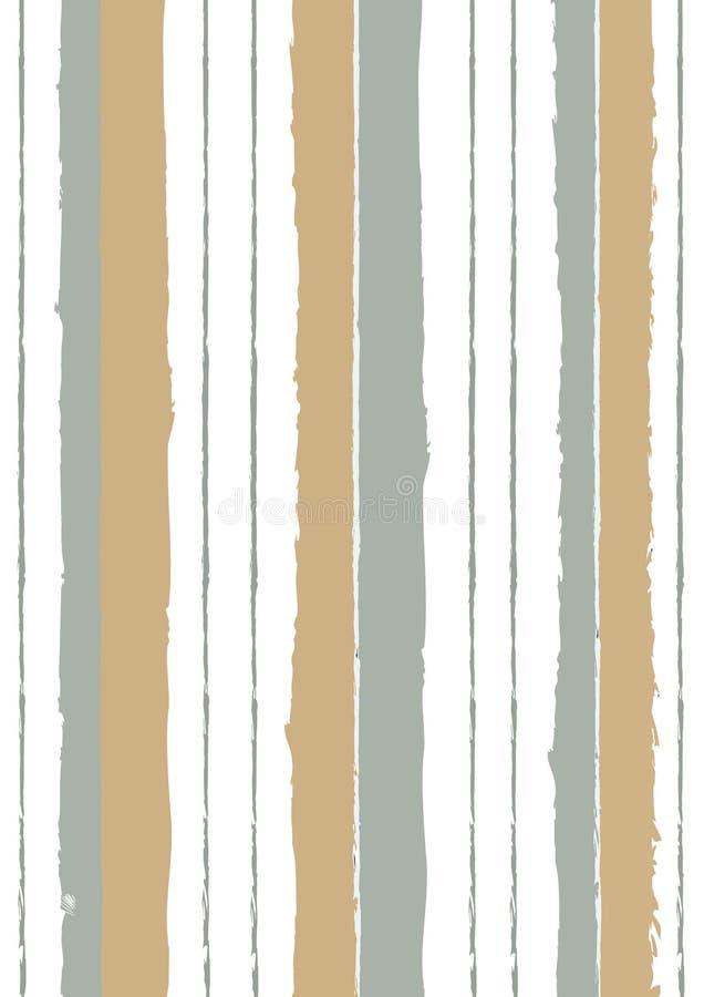 Het herhalen van abstracte achtergrond met beige schaduwen Abstracte vector royalty-vrije illustratie