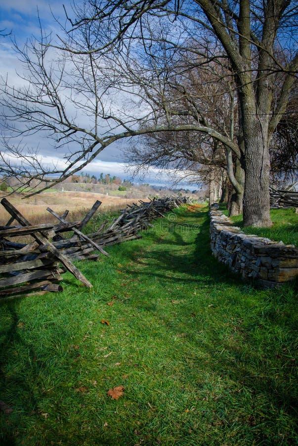 Het herinneren van Antietam stock fotografie
