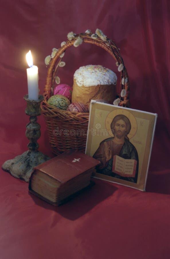 Het Bidden van Pasen royalty-vrije stock afbeelding