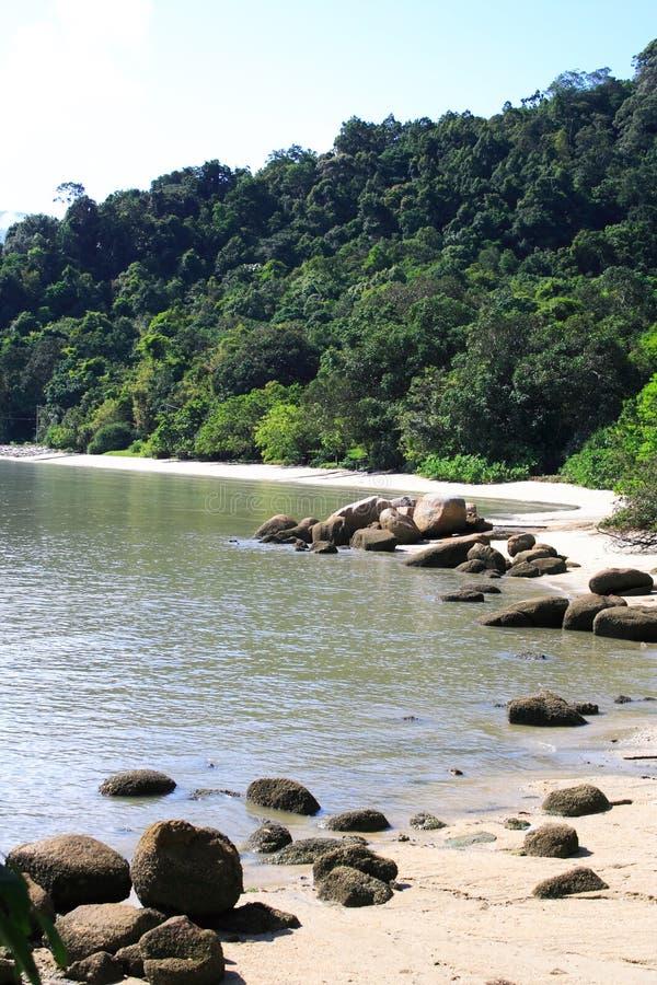 Het het Nationale Park en Strand van Penang royalty-vrije stock foto's