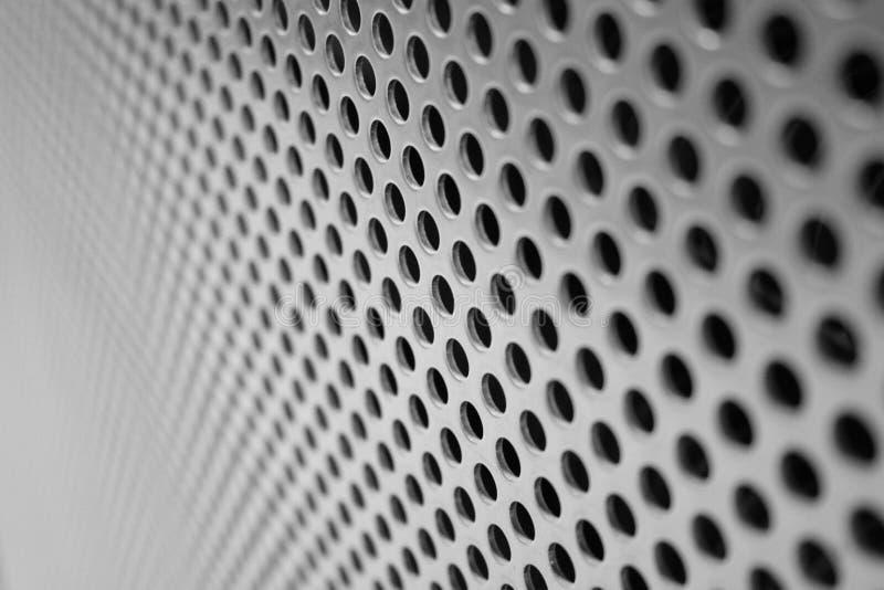 Het het netwerkscherm van het staal stock foto's