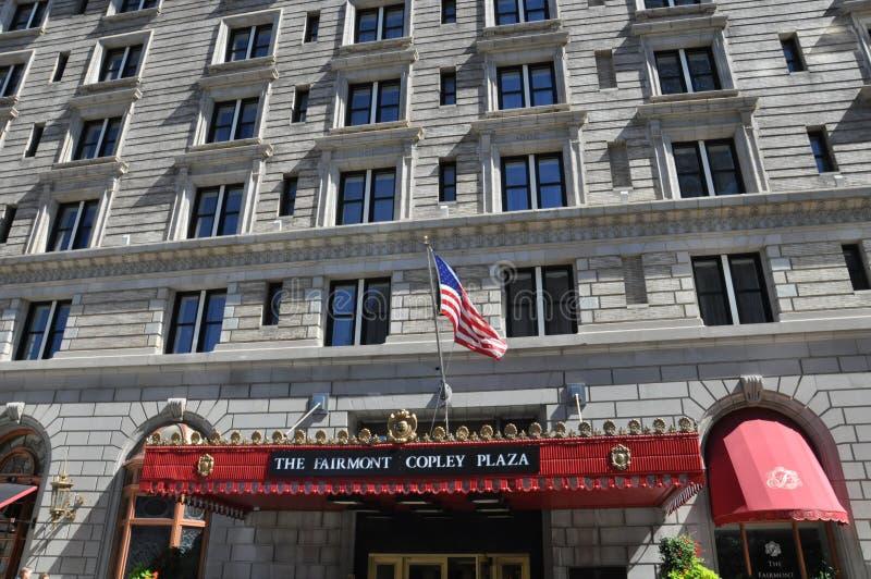 Het het Pleinhotel van Fairmont Copley royalty-vrije stock afbeeldingen