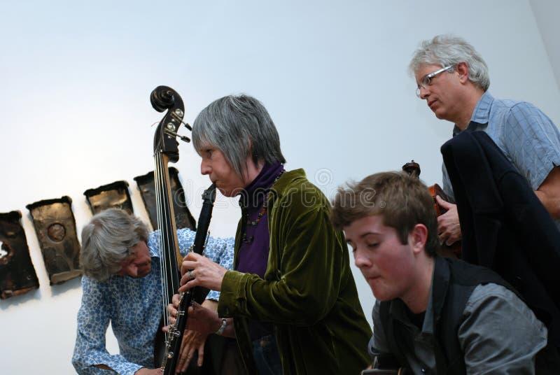 Het hete Overleg van de Jazz royalty-vrije stock foto