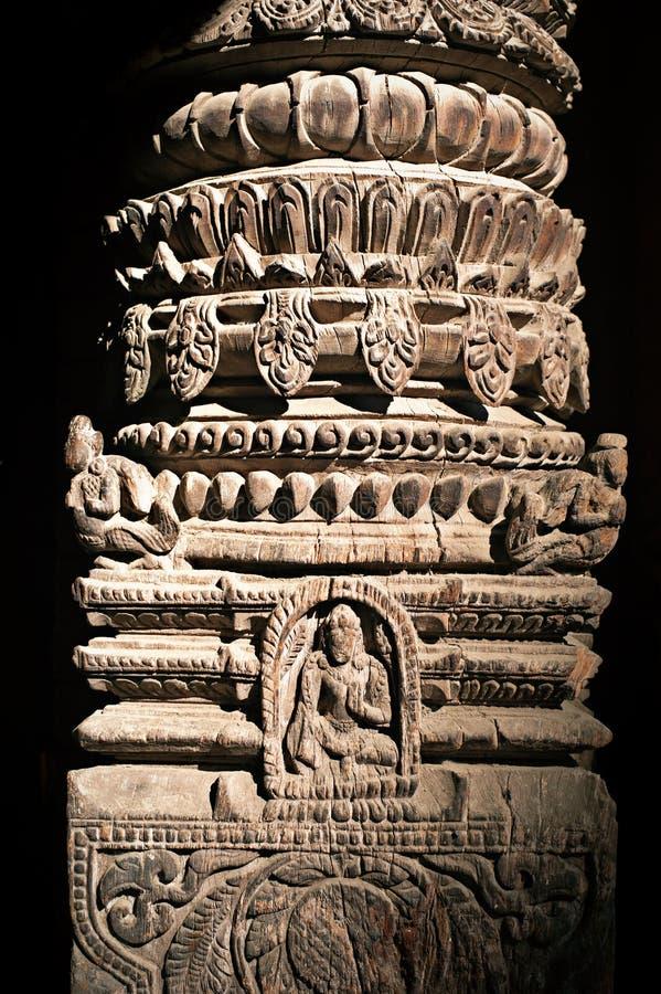 Het Hindoese detail van de tempelarchitectuur royalty-vrije stock foto's
